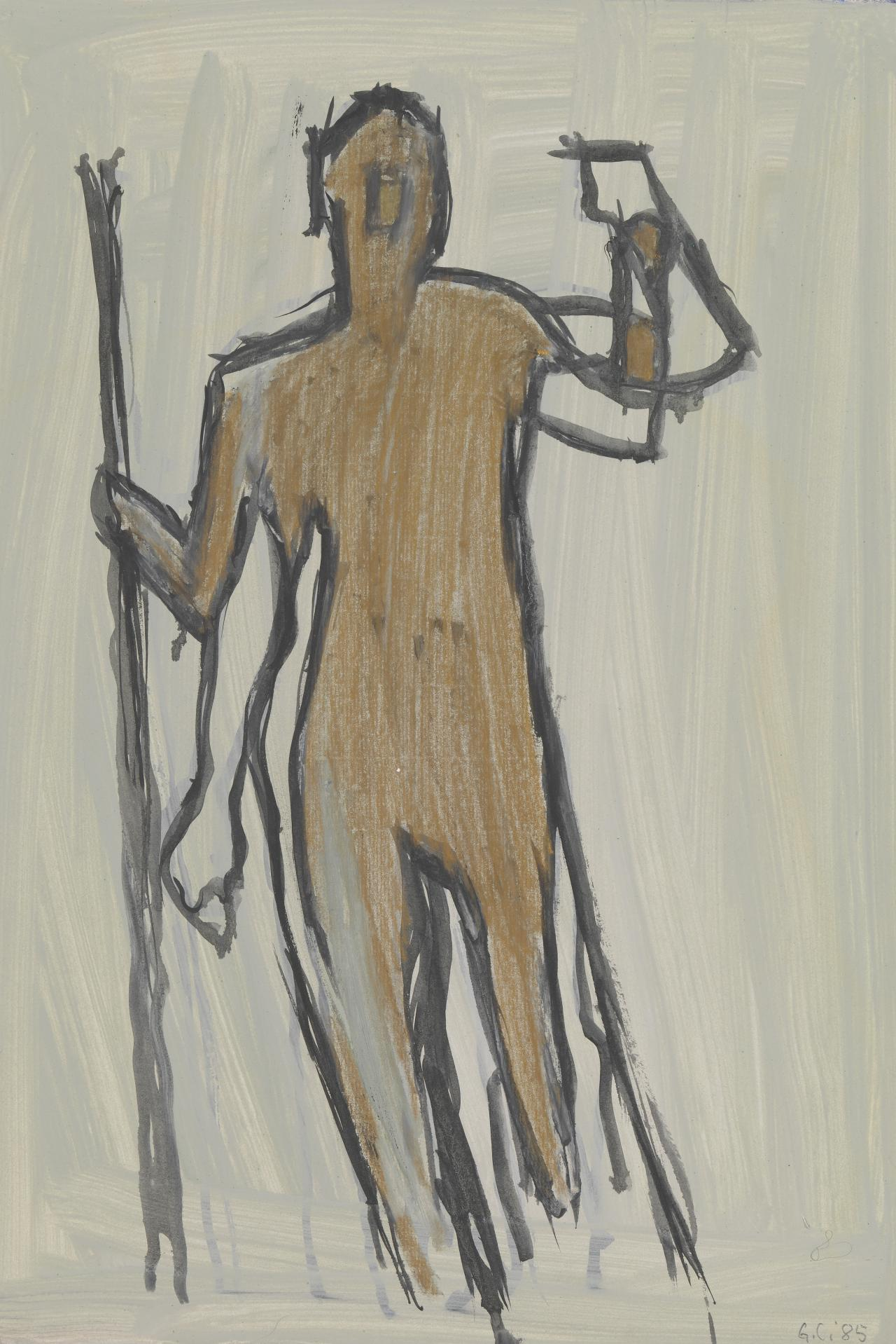 Untitled (silhouette of man)