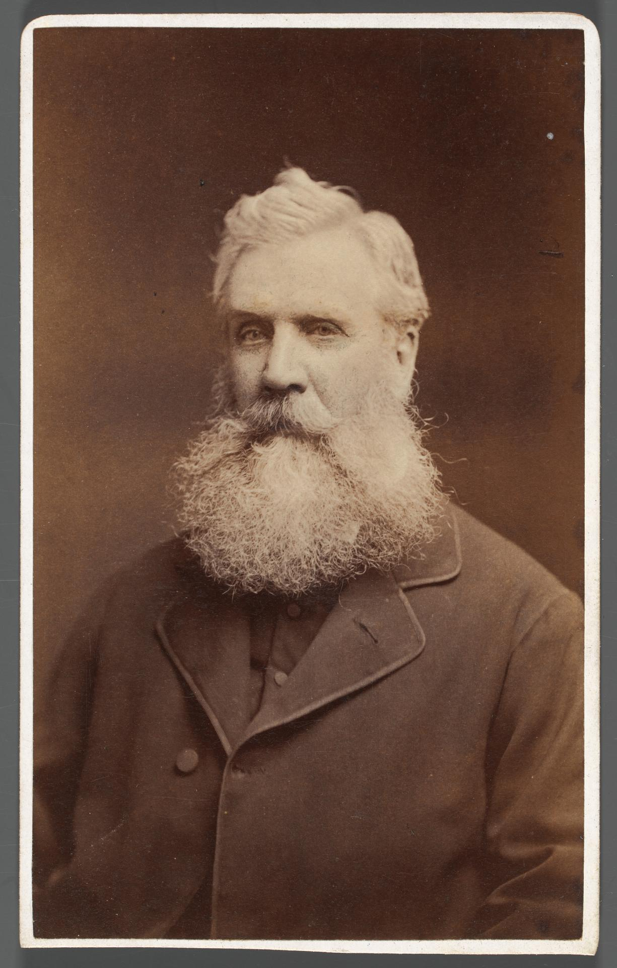 No title (Man with white beard), carte-de-visite