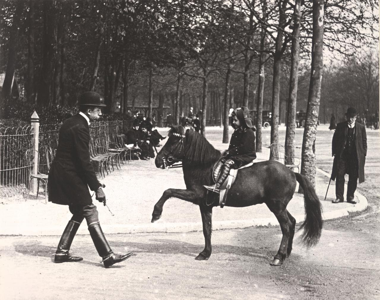 Could Marcel Proust's Gilberte be this little equestrienne on the rue des Acacias?