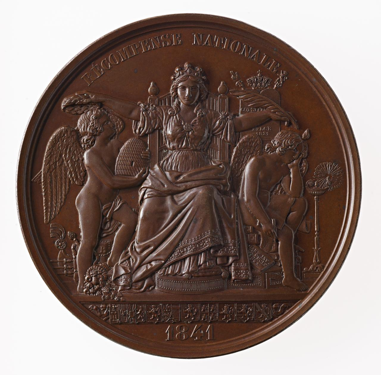 Exposition of the Products of National Industry Brussels 1841, prize medal
