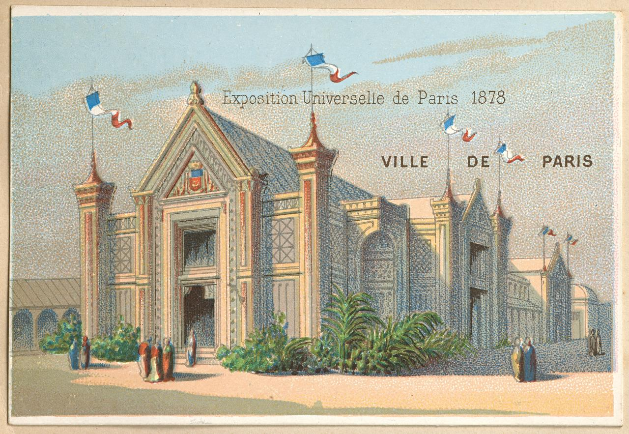 Universal Exposition, Paris. Pavilion of the City of Paris