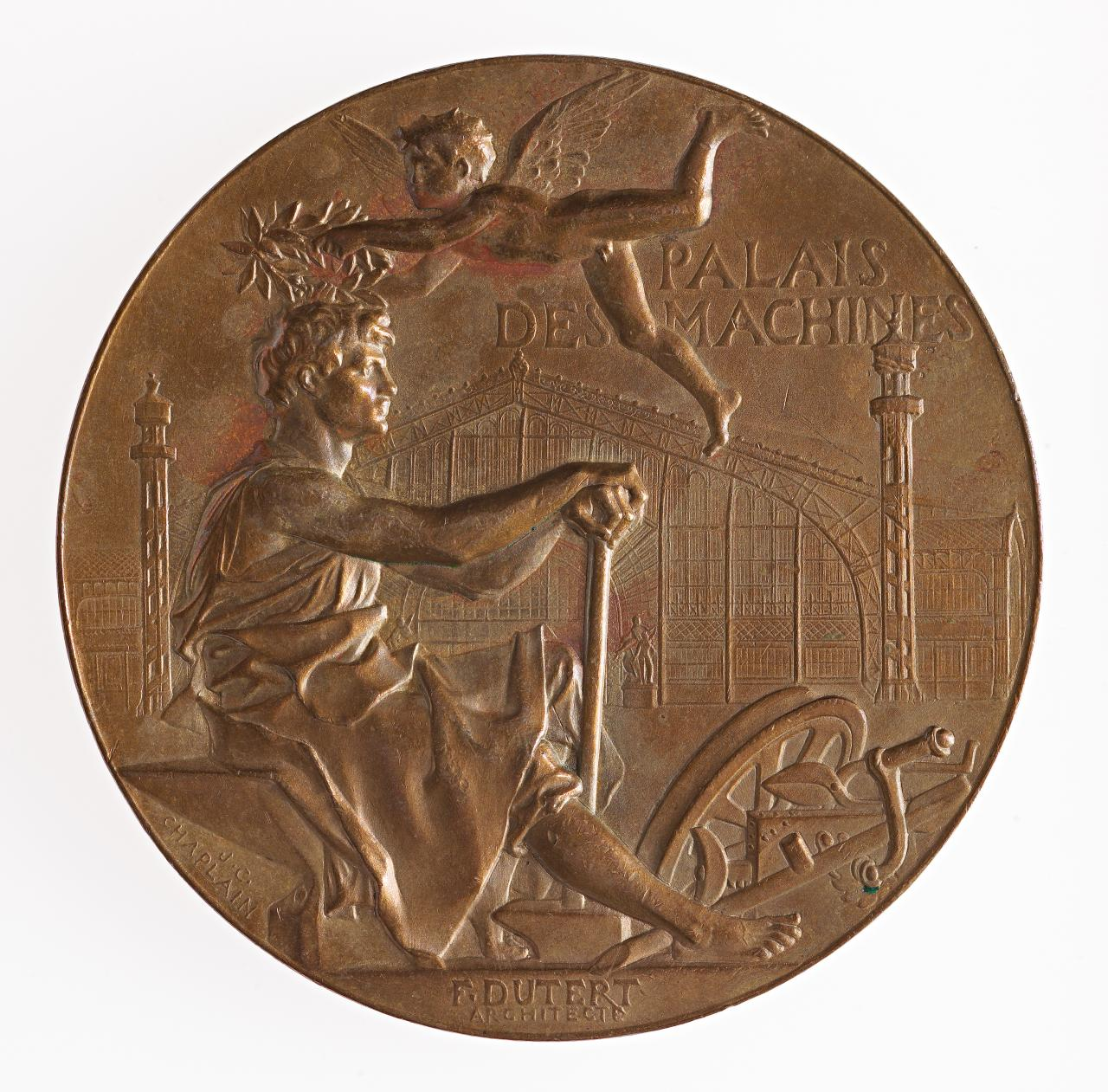 Universal Exposition, Paris. Press Committee, Osiris Prize, prize medal
