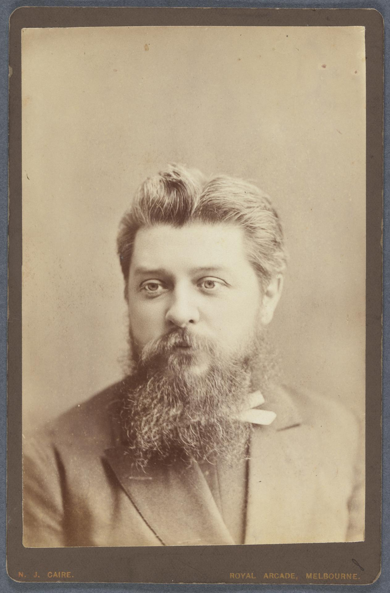 No title (Bearded man), cabinet print