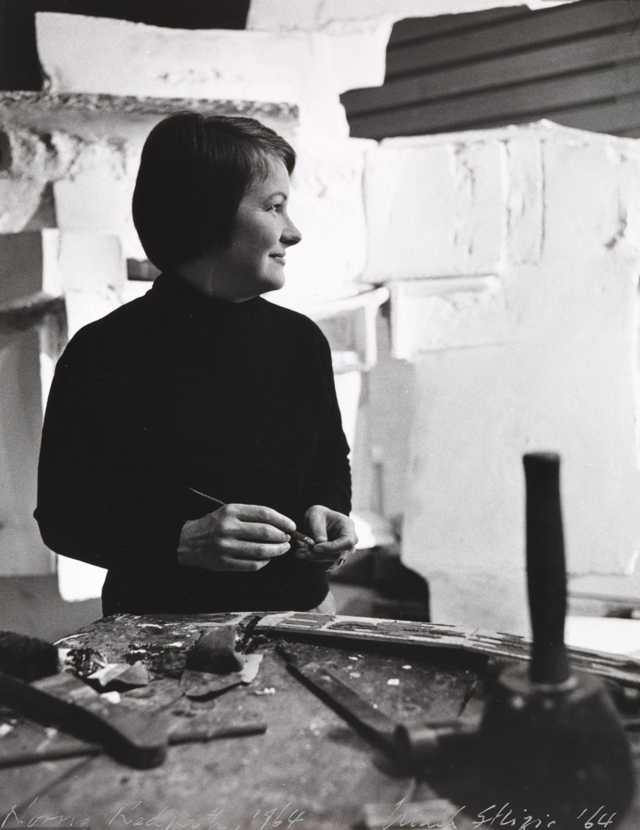 Norma Redpath, sculptor