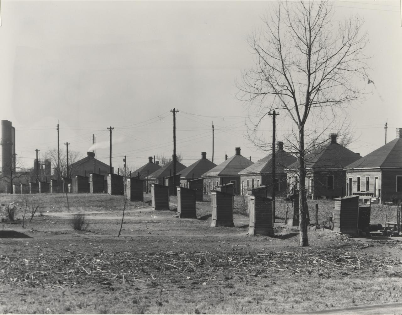 Company houses for steel mill workers, Birmingham, Alabama
