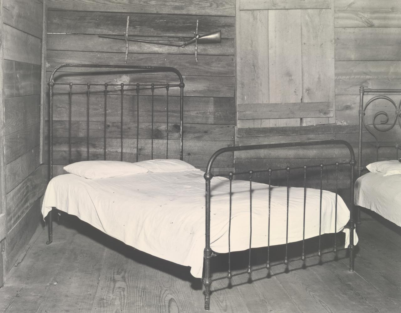 Floyd Burroughs' Bedroom, Hale County, Alabama