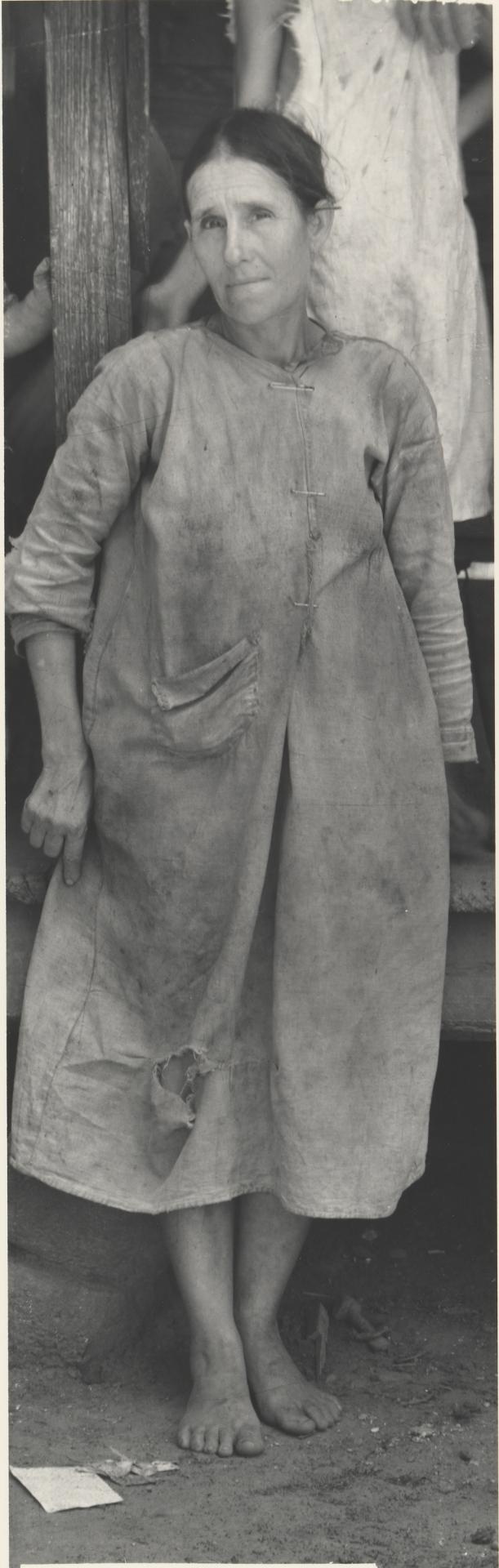 Mrs Frank Tengle, wife of a cotton sharecropper, Hale County, Alabama