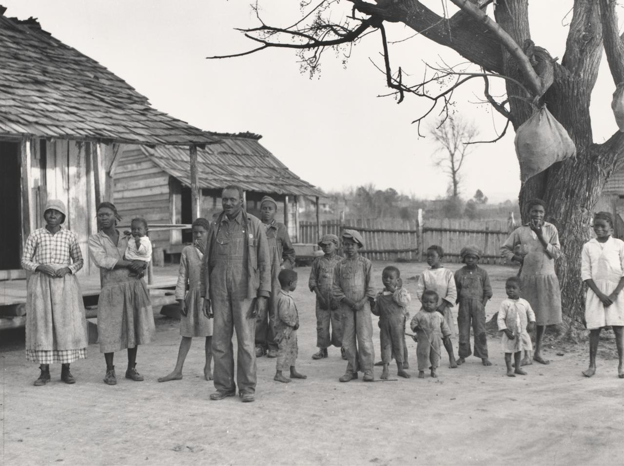 Descendants of former slaves of the Pettway Plantation, Gee's bend, Alabama