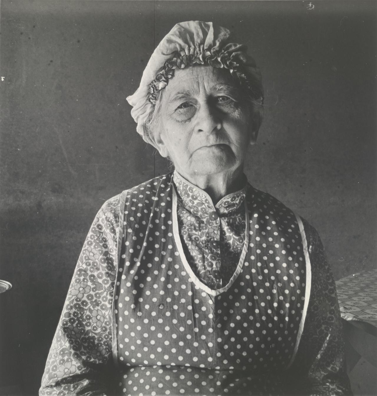 Resident at irrigation project, Malheur County, Oregon