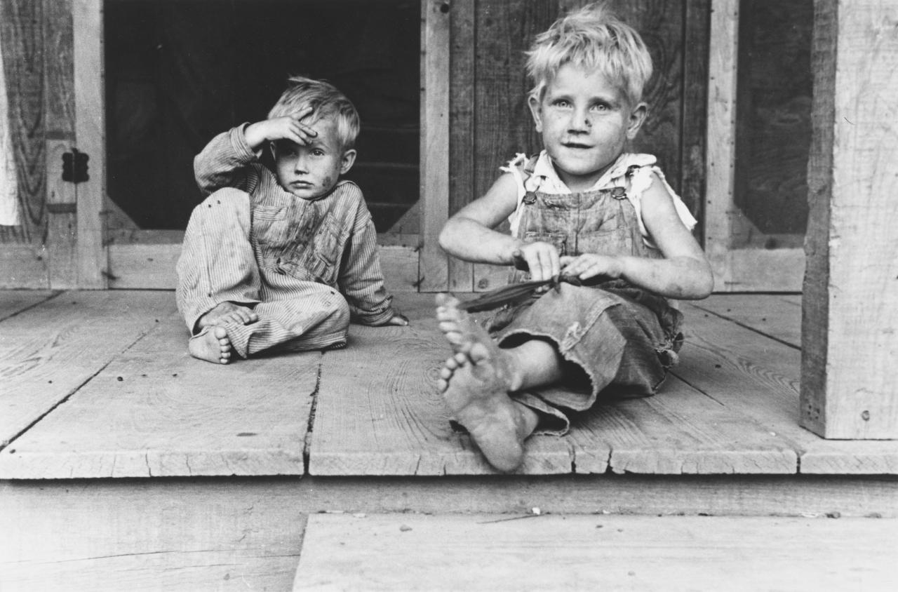 Children of rehabilitation client, Maria plantation, Arkansas