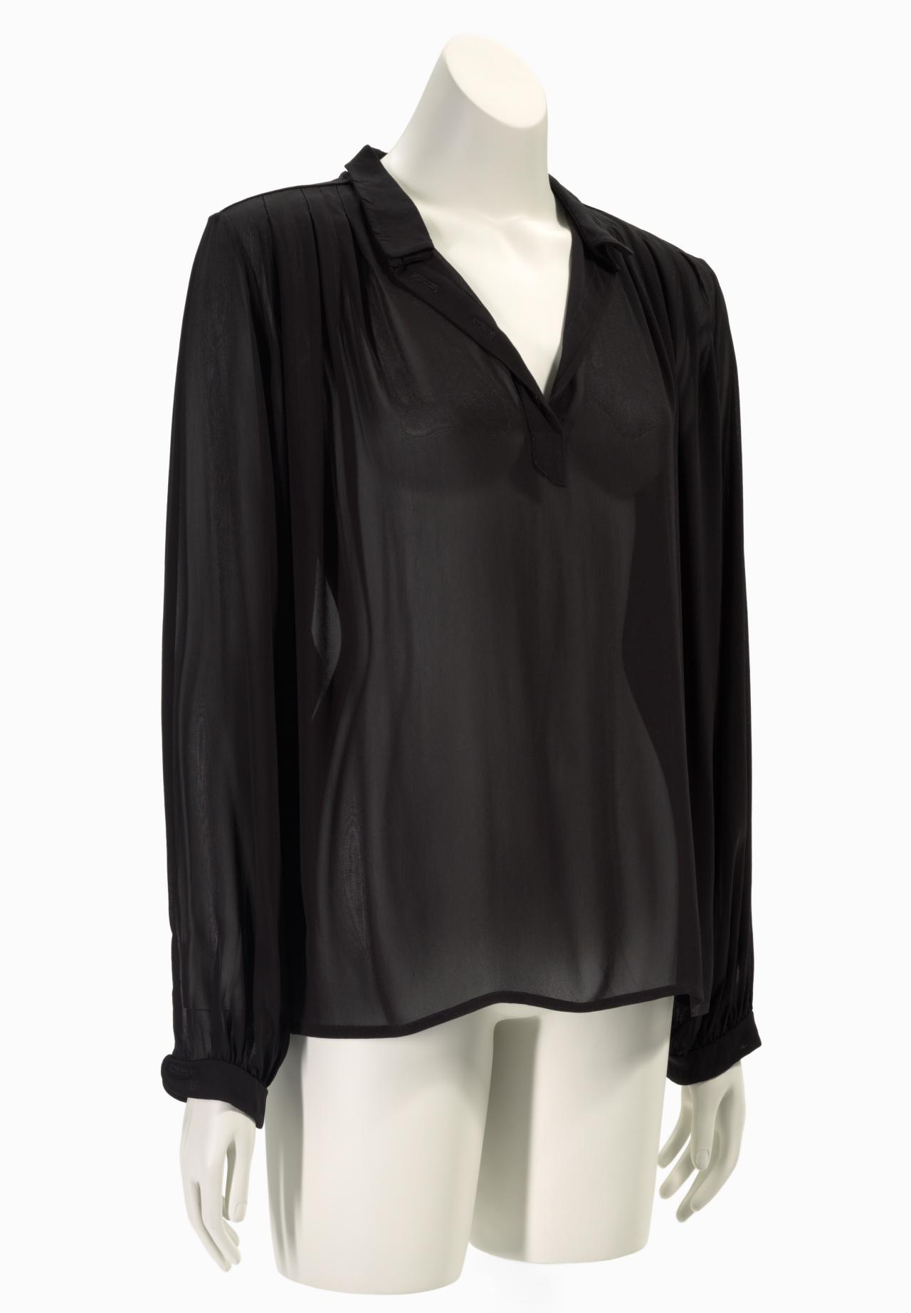 Classic georgette shirt