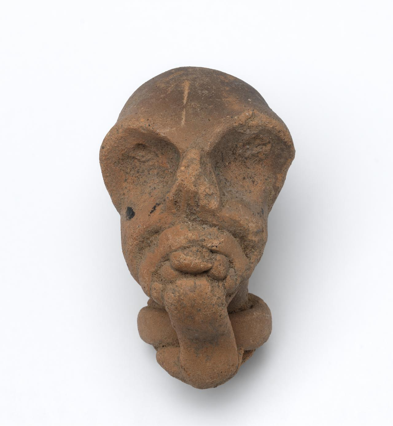 Head of an old man, fragment