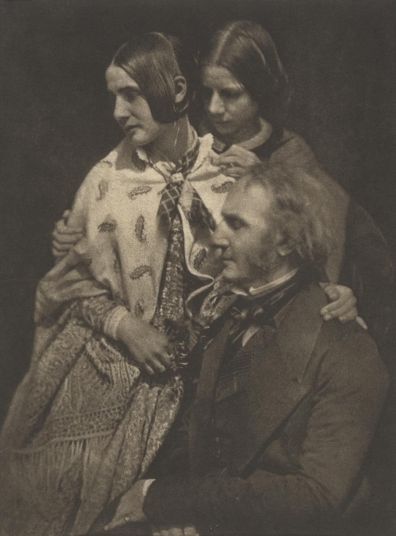James Fillans and his daughters