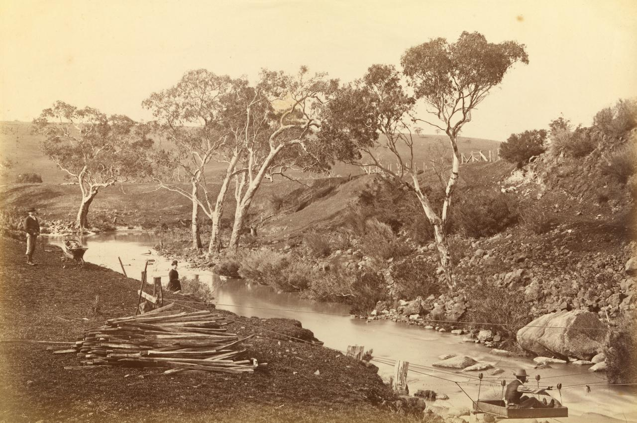 View on the Moorabool River, Batesford