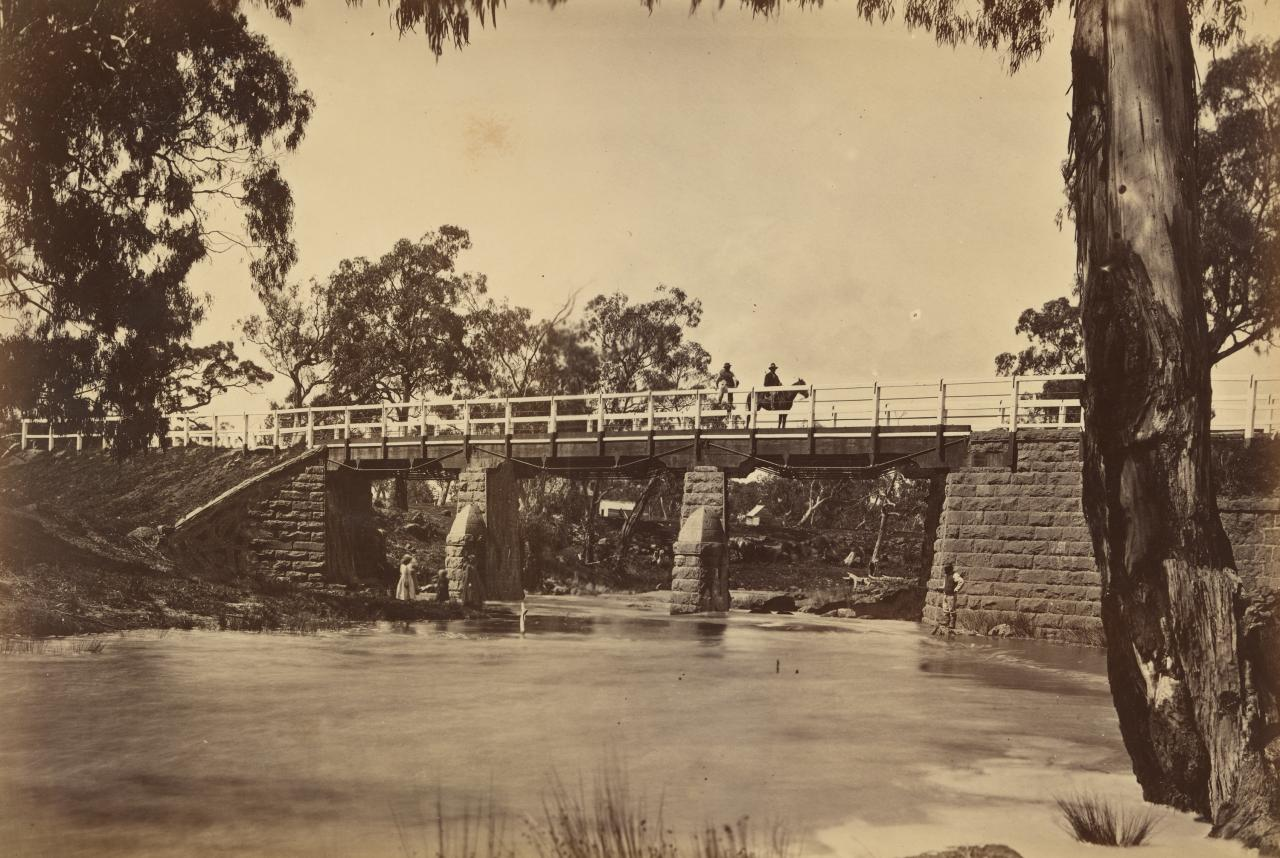 Bridge, Plenty River, near Morang