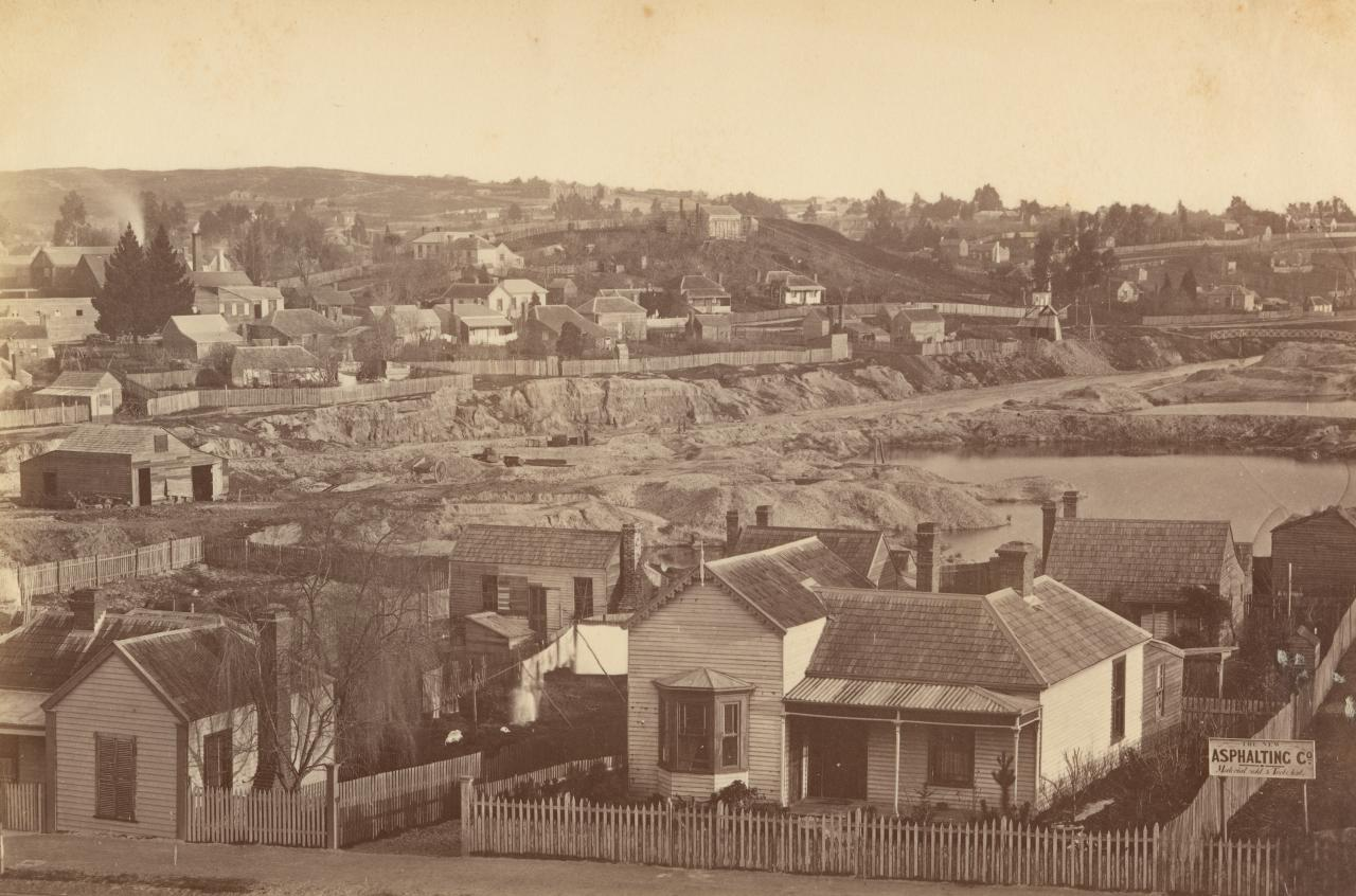 View of Mount Pleasant, as seen from School of Mines, Ballarat