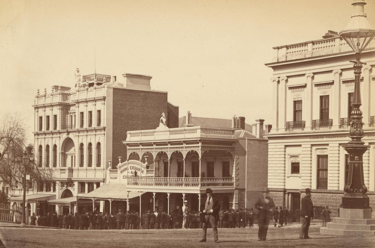 Mechanics' Institute and Corner, Sturt Street, Ballarat