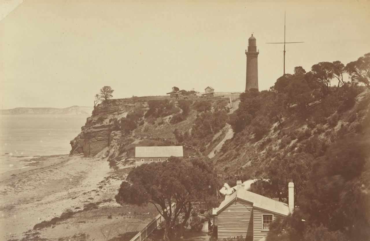 Shortland Bluff and lighthouse, Queenscliff
