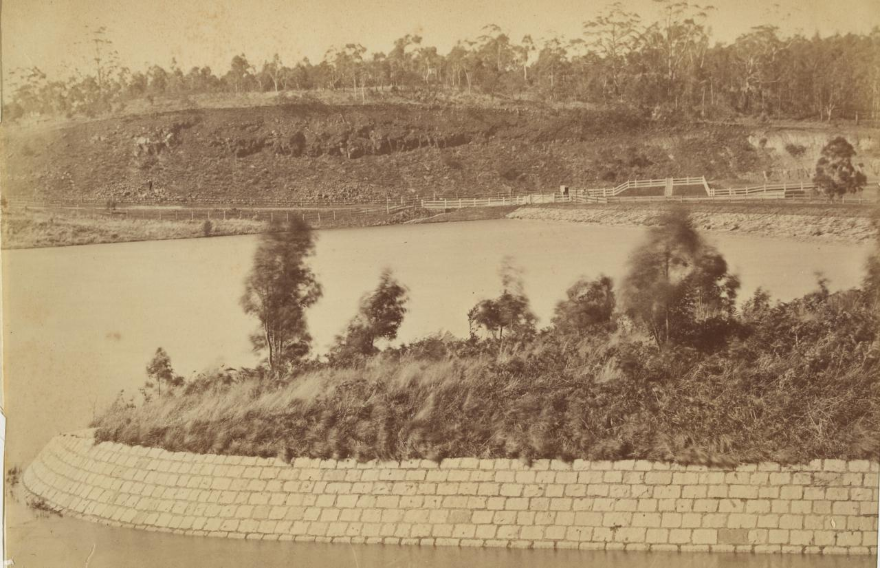 Scene at Gong Gong, Ballarat water supply