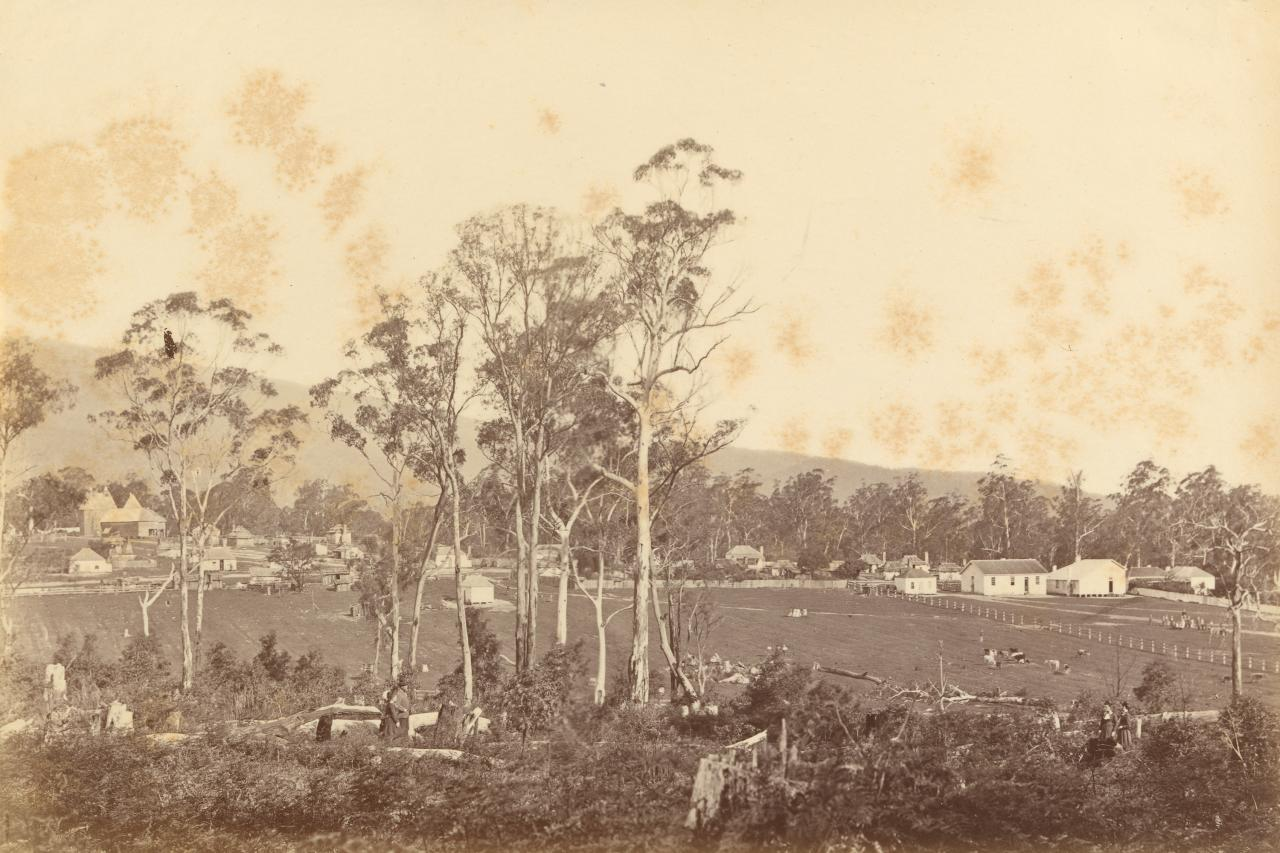 General view of Coranderrk Aboriginal Station