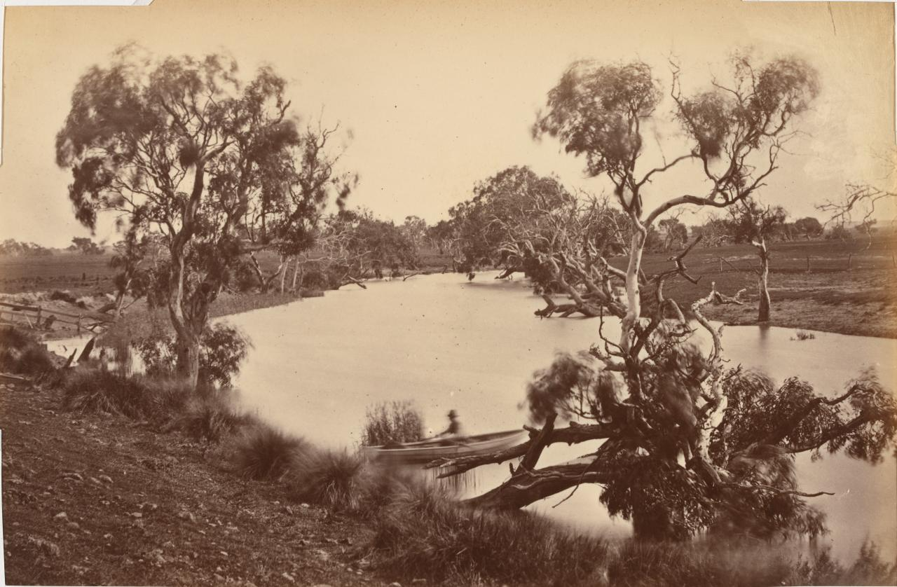 View on the Leigh River, near Inverleigh