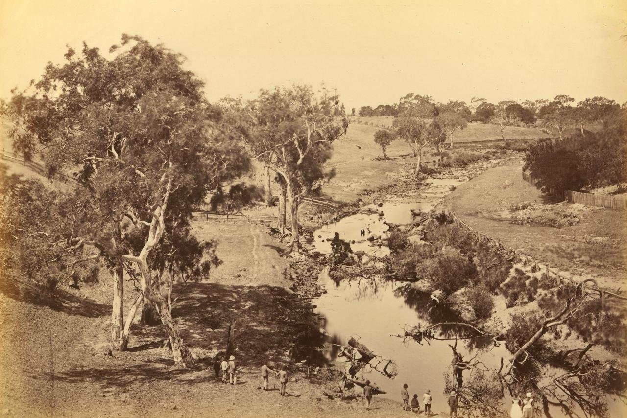 View on the Barwon River, Winchelsea
