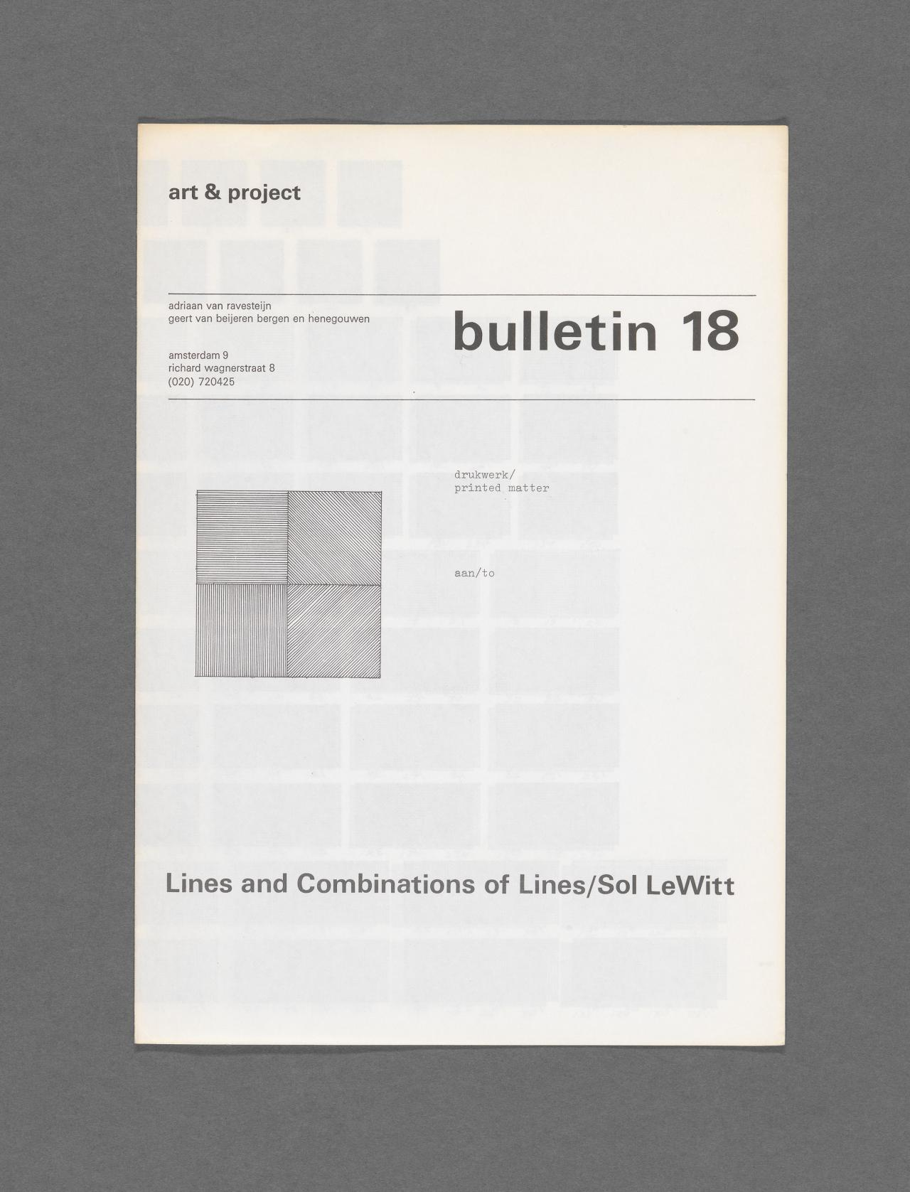 Art & Project Bulletin 18