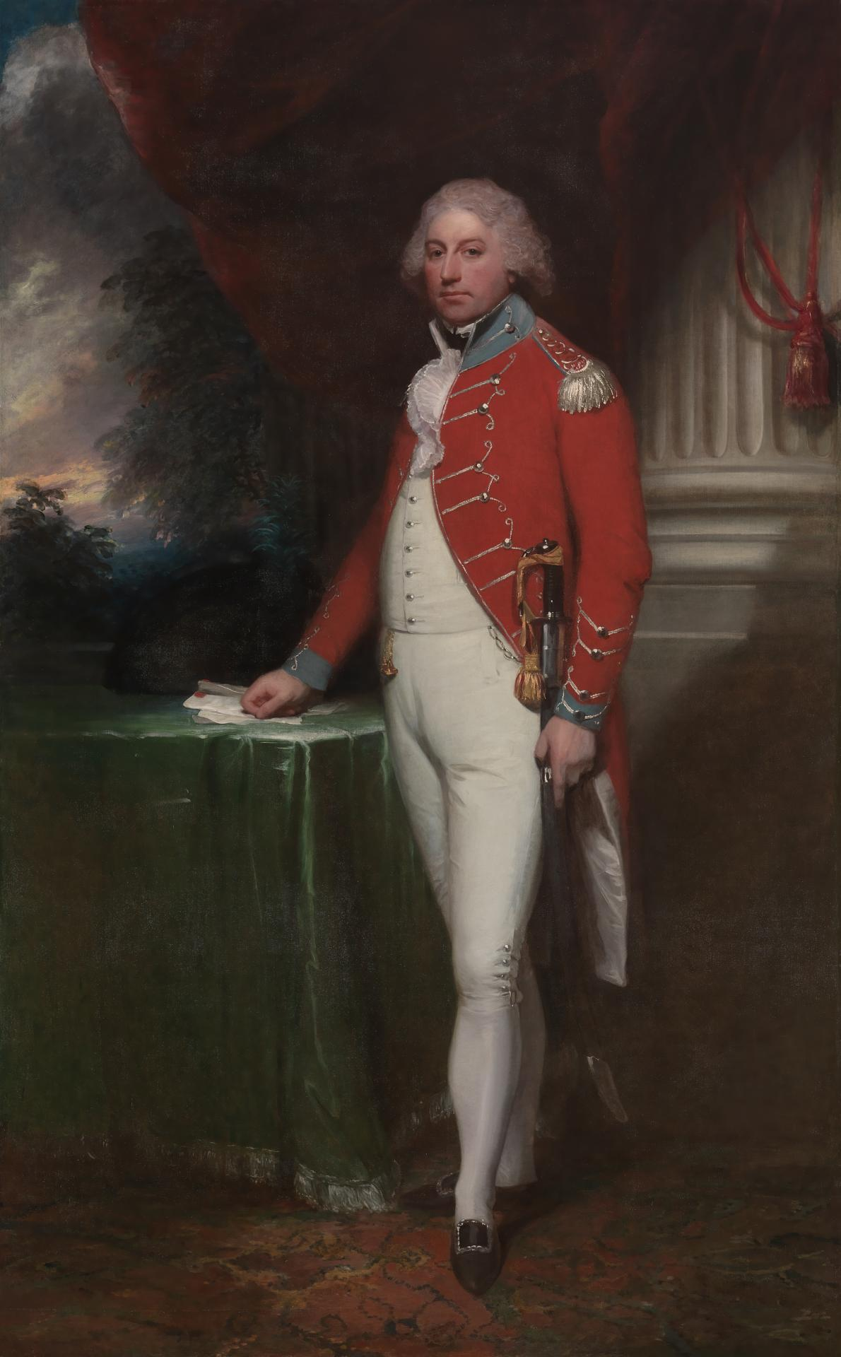 Rt Hon. John Rous, 6th Baronet, later first Earl of Stradbroke in Suffolk Yeomanry Cavalry Uniform