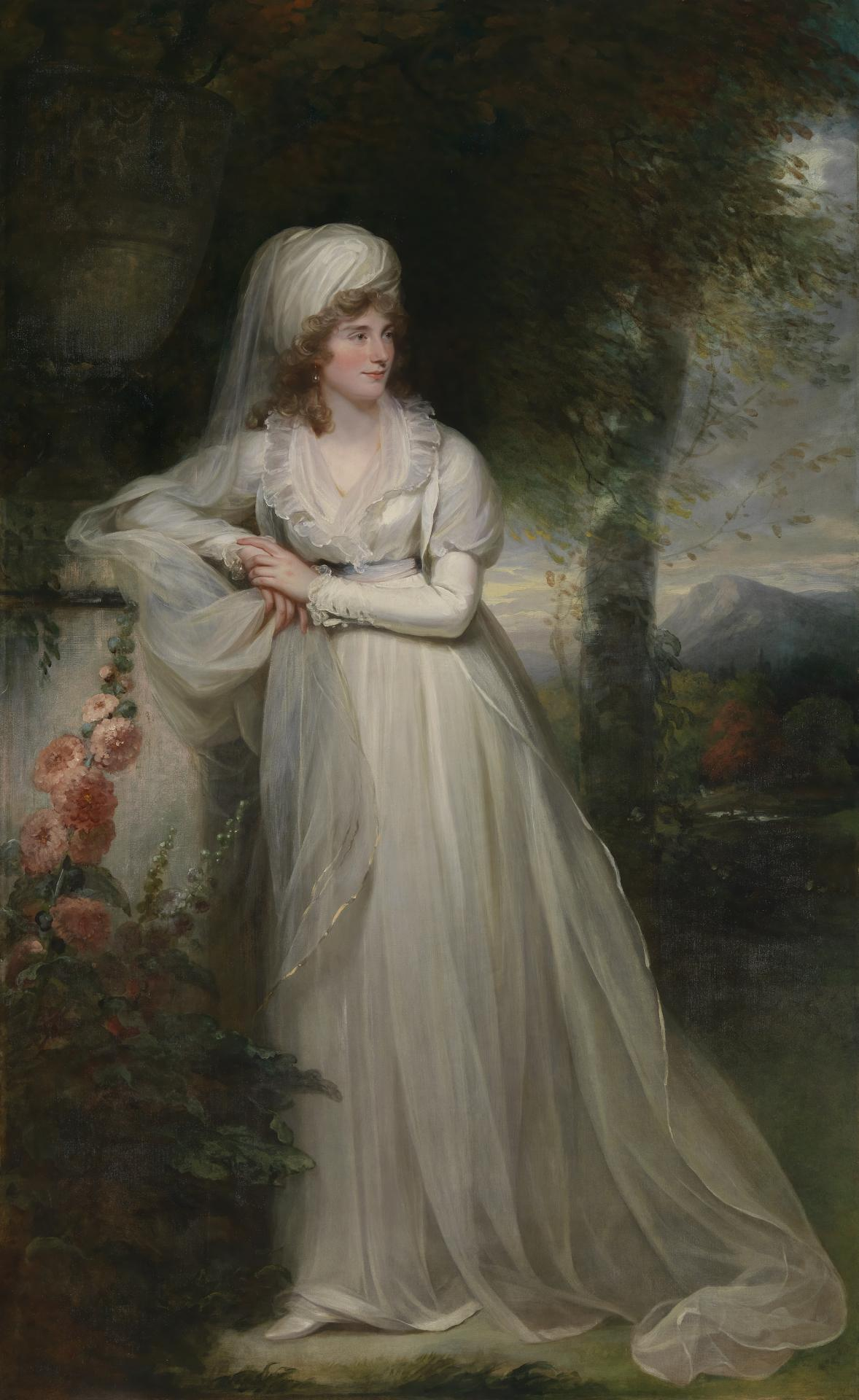 Lady Rous née Charlotte Maria Whittaker, second wife of the 6th Baronet, later, Earl of Stradbroke