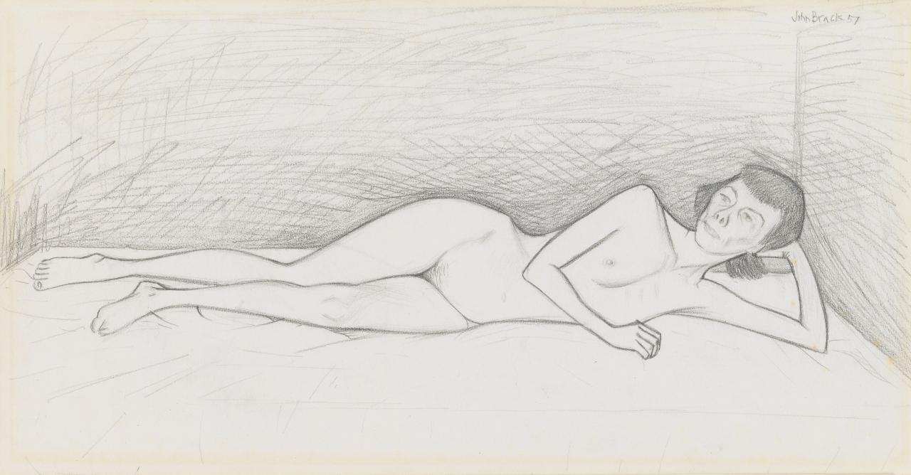 Study for Nude on a mattress