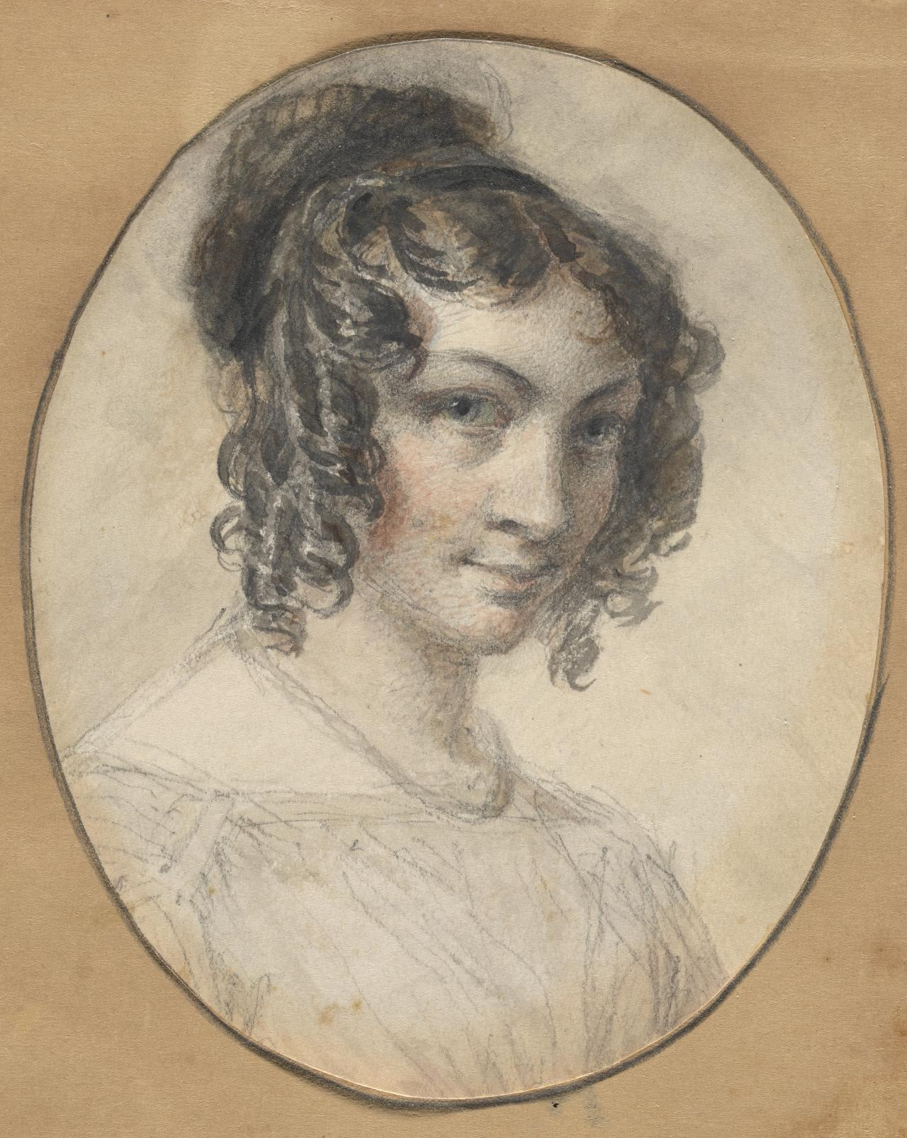 Self-portrait (Georgiana Huntly Gordon)