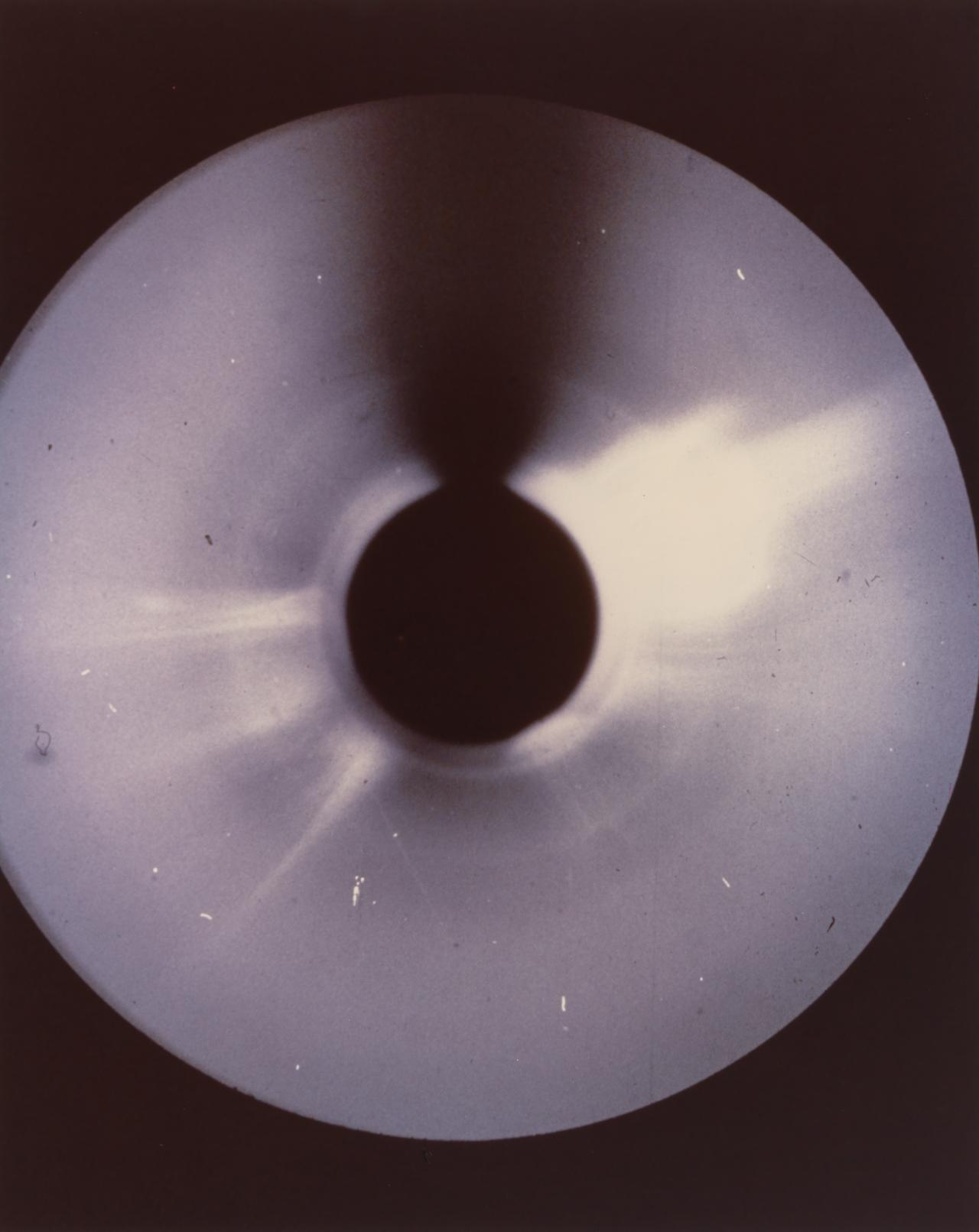 Skylab: a gargantuan disruption of corona moves outwards from Sun