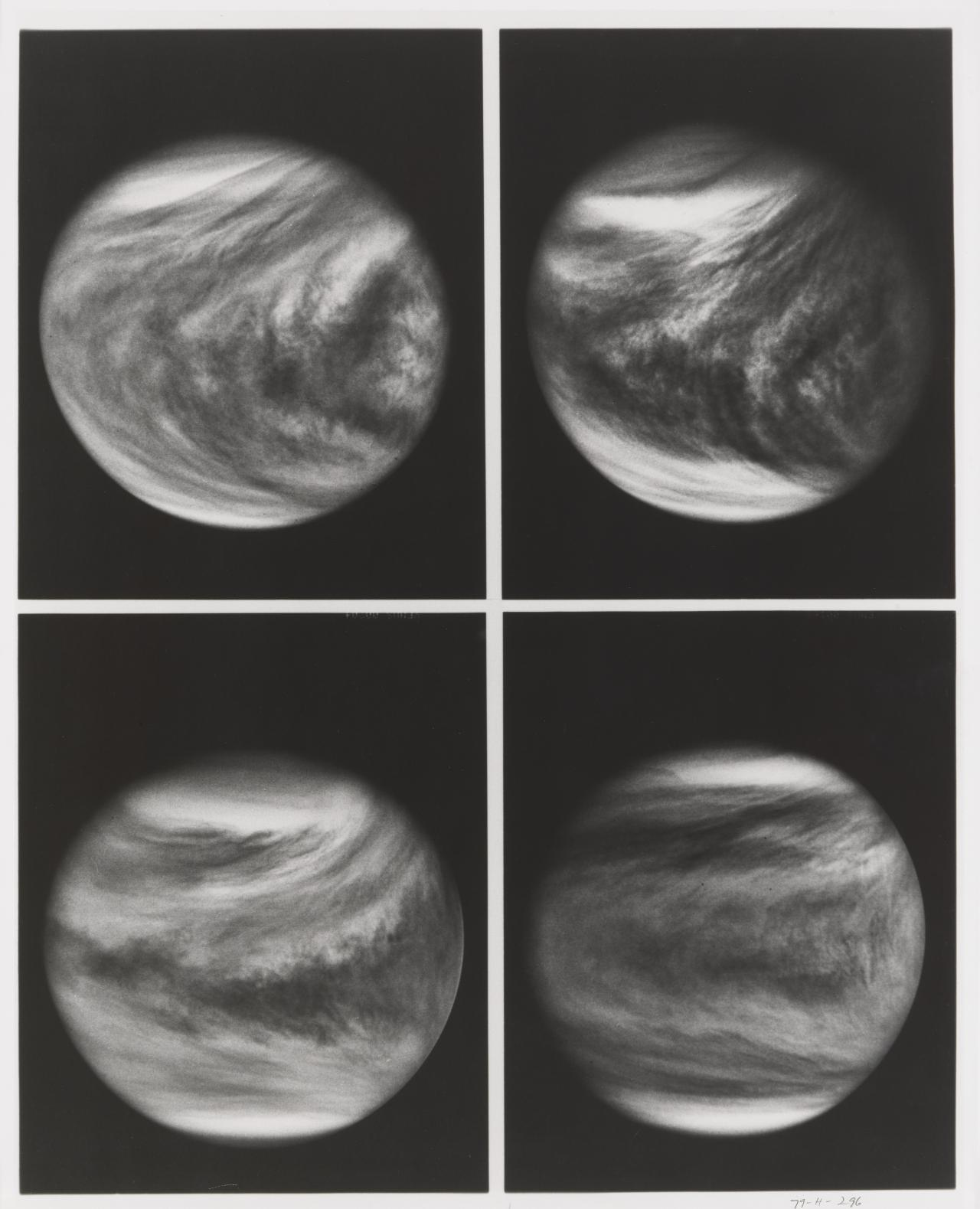Four progressive images of Venus 2 February to 3 March 1979