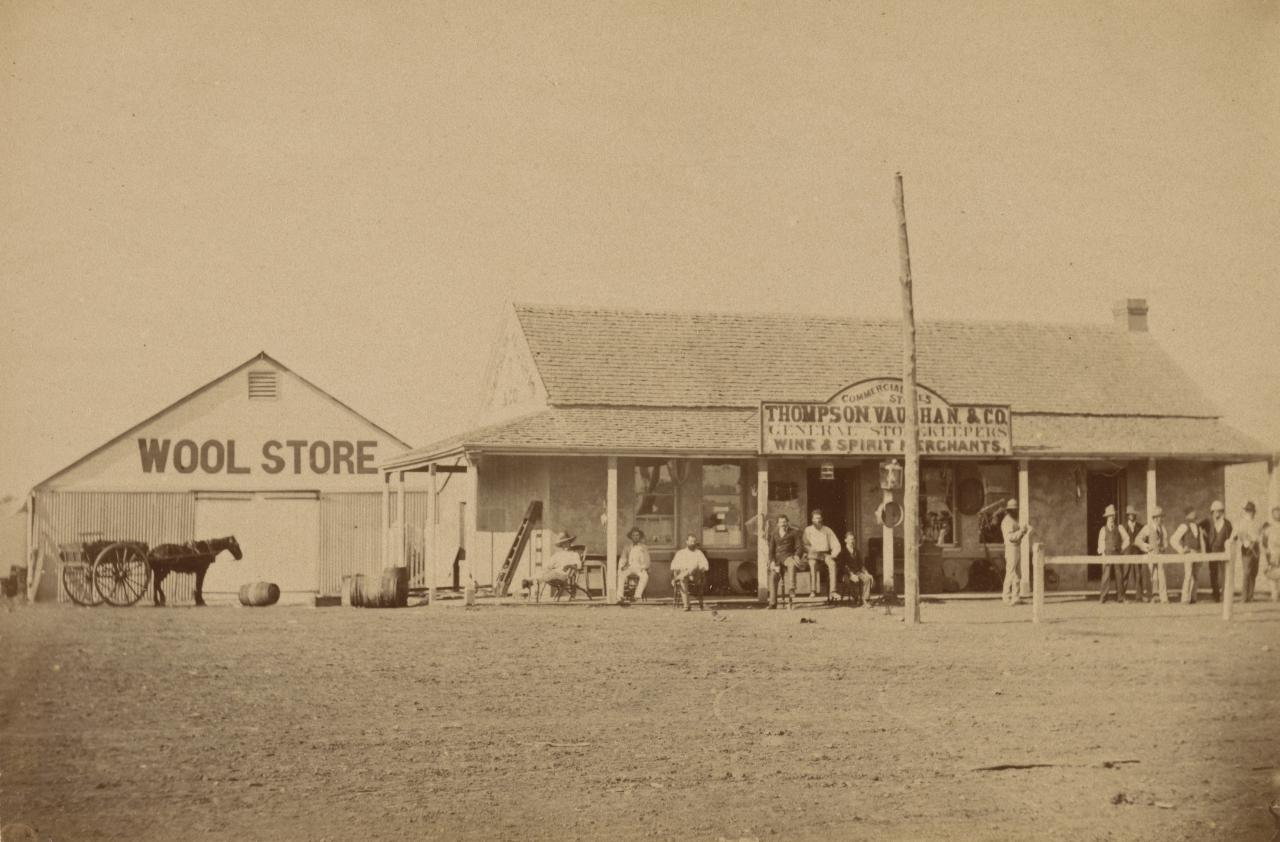 No title (Thompson Vaughan & Co General Store)