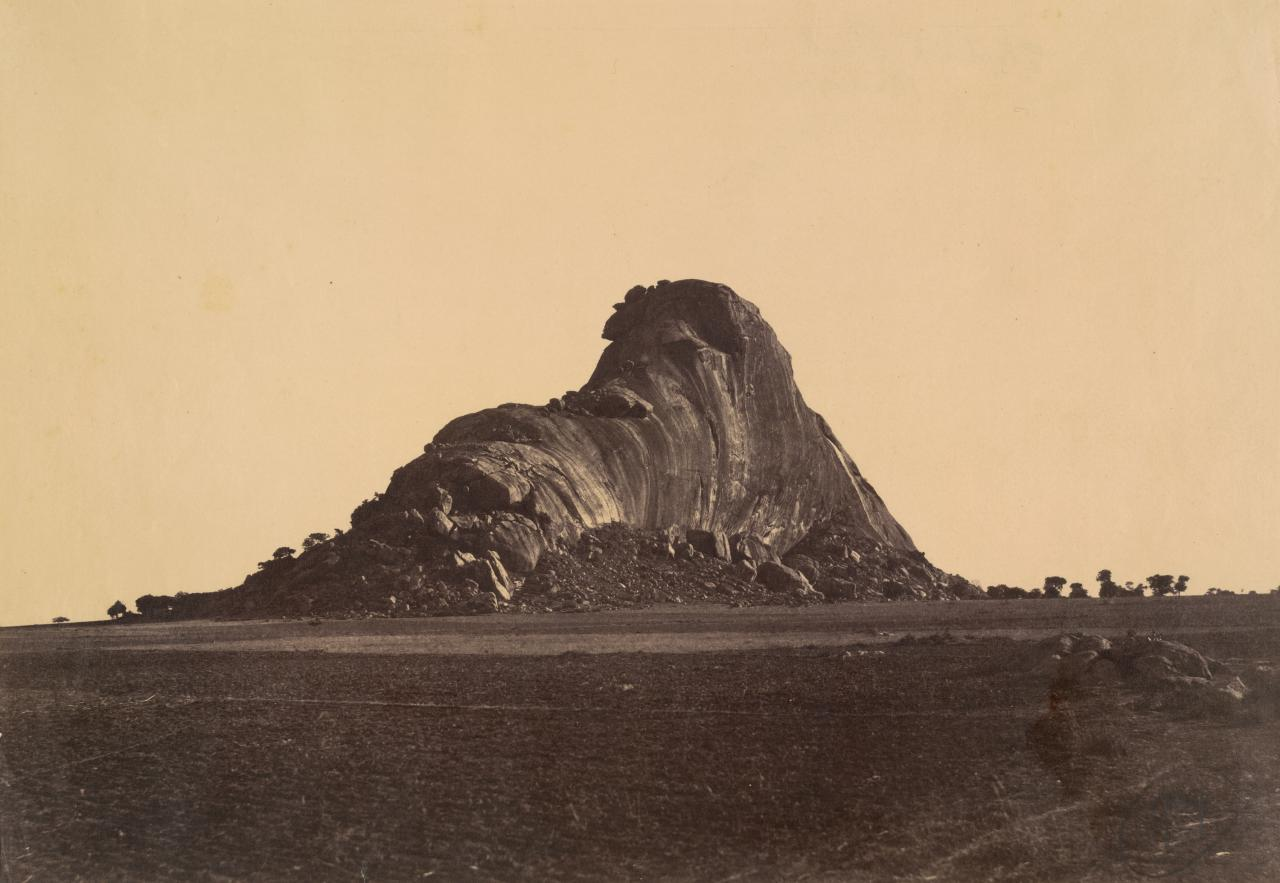 The Elephant Rock near Madura