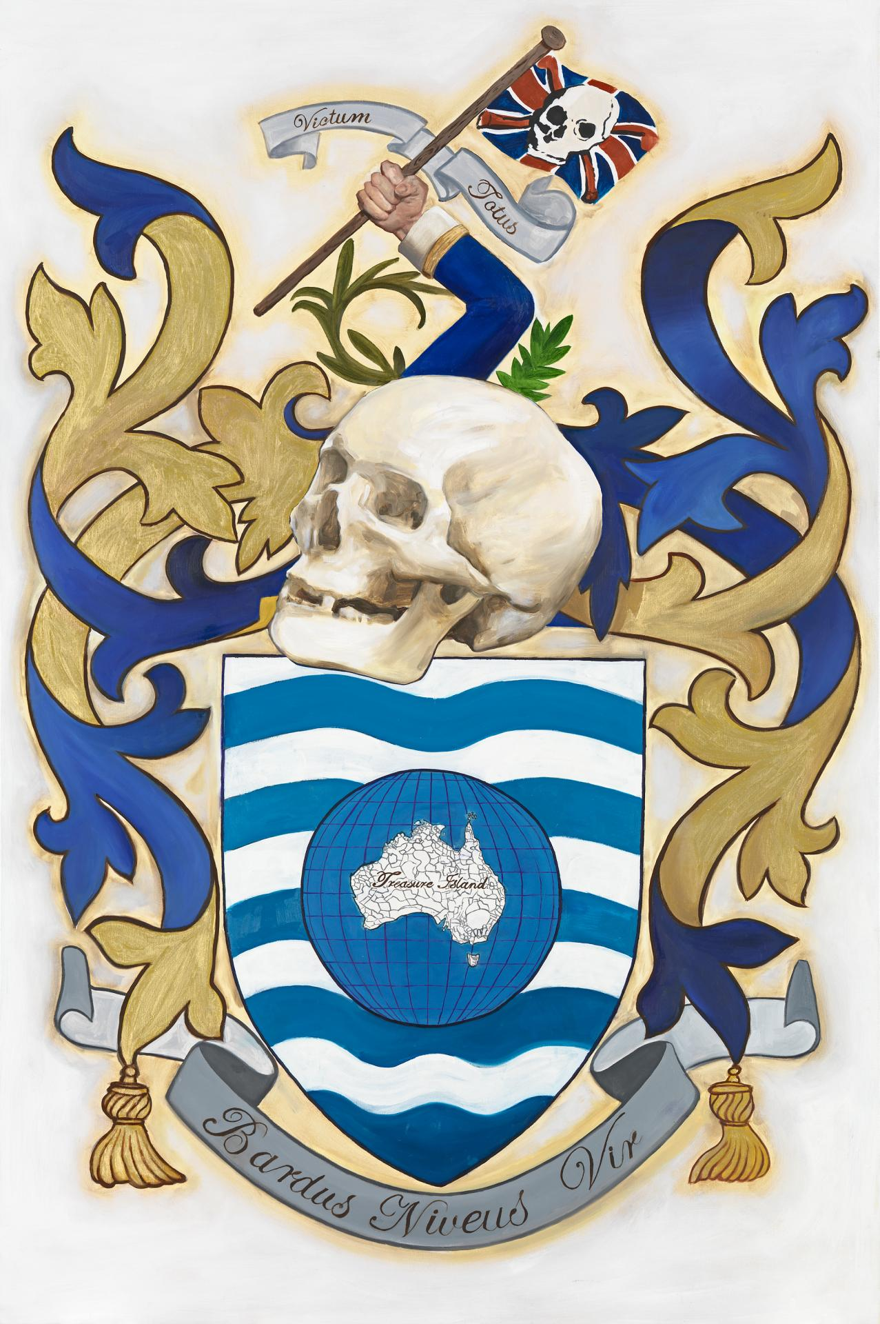 No Beard's coat of arms