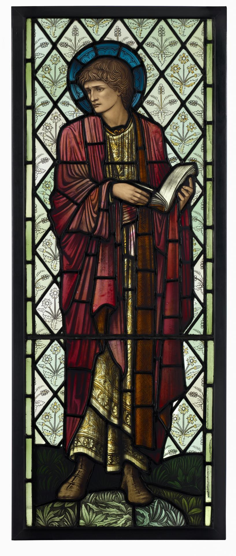 St Paul, window from the Chapel of Cheadle Royal Hospital, Manchester