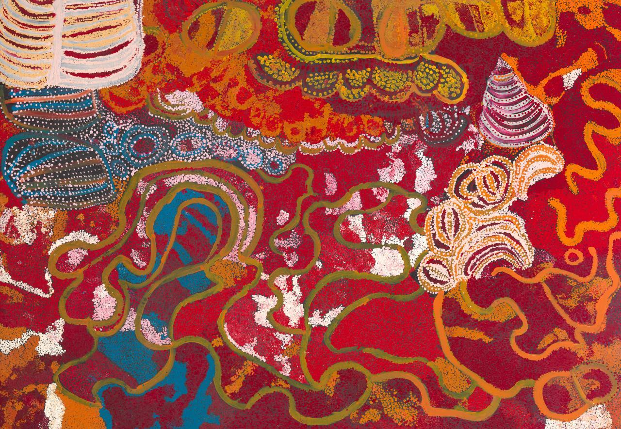 Kungkarangkalpa (Seven Sisters) 2009. Wingu Tingima 4753e2d27cf7