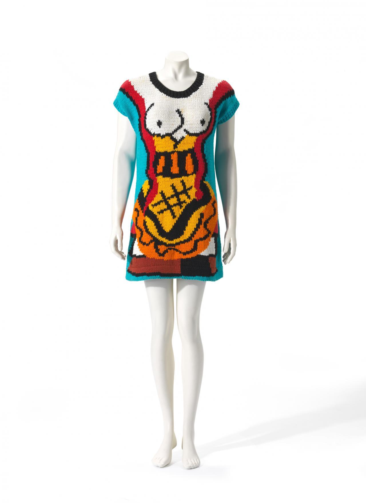 Snake Goddess Flamingo Park Sydney Fashion House Jenny Kee Designer Jan Ayres Knitter Ngv View Work