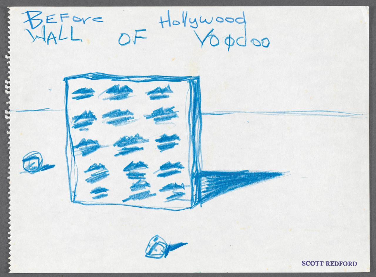 Before Hollywood, wall of voodoo