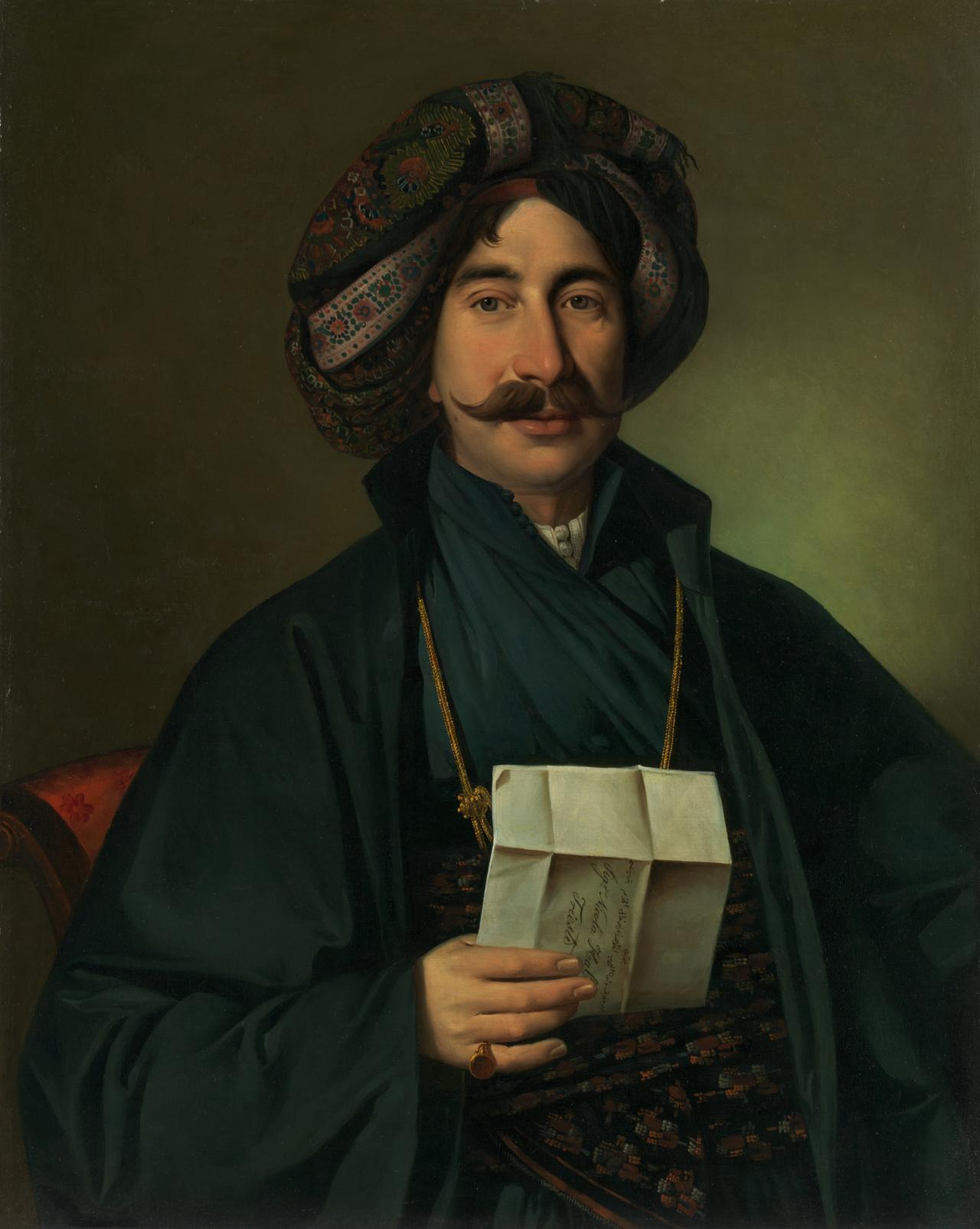 Man in Ottoman dress