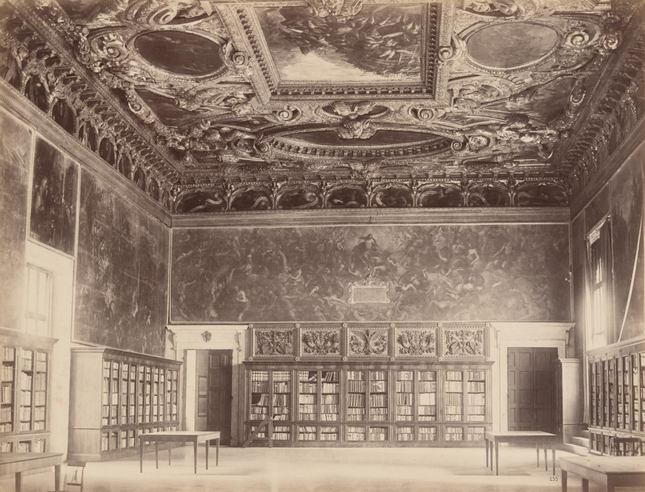 Portion of library, Ducal Palace, Venice