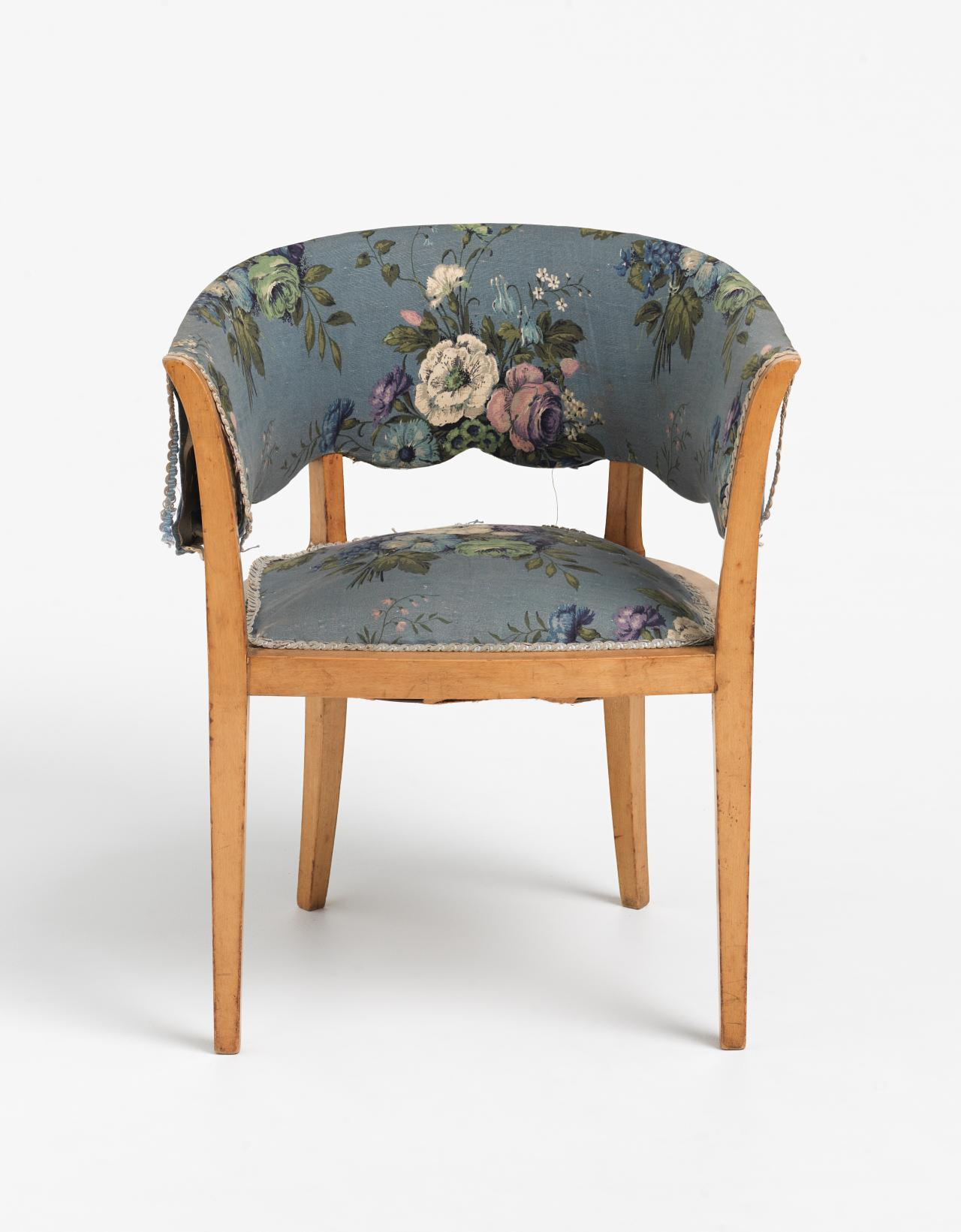Bedroom chair, from the Langer apartment