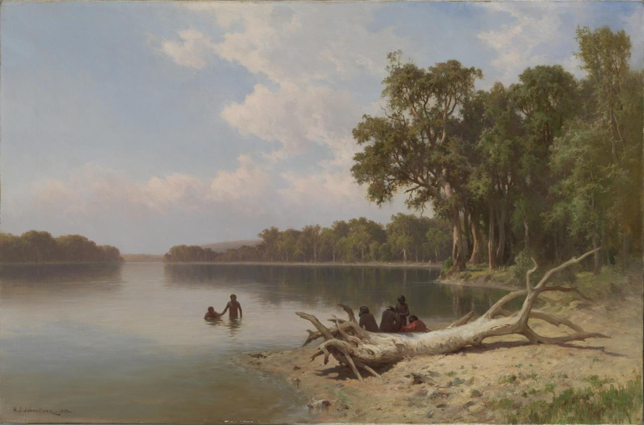 Morning on the Murray near Blanchetown