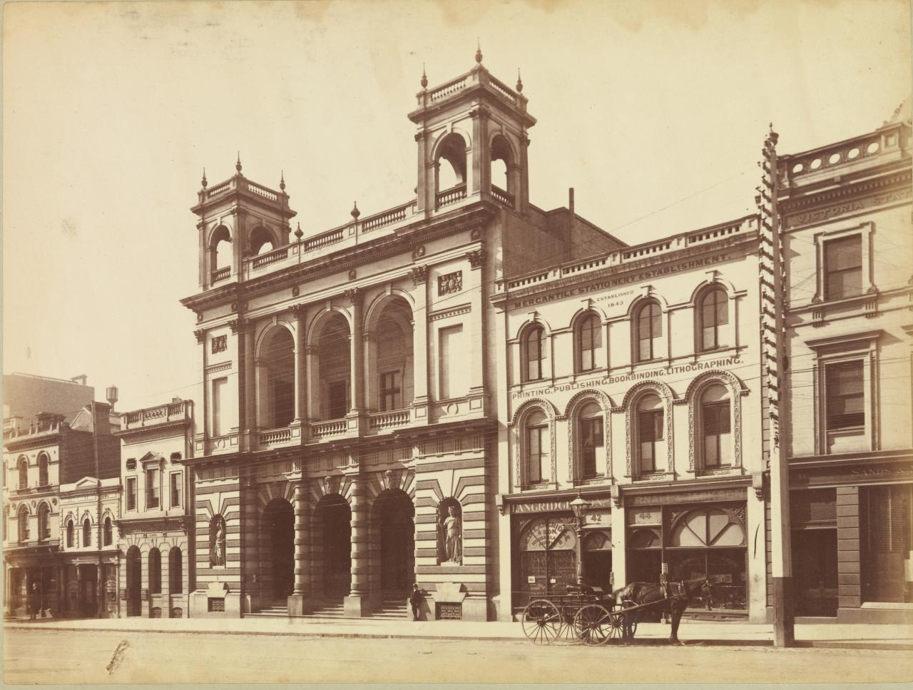 Union Bank, Collins St. West