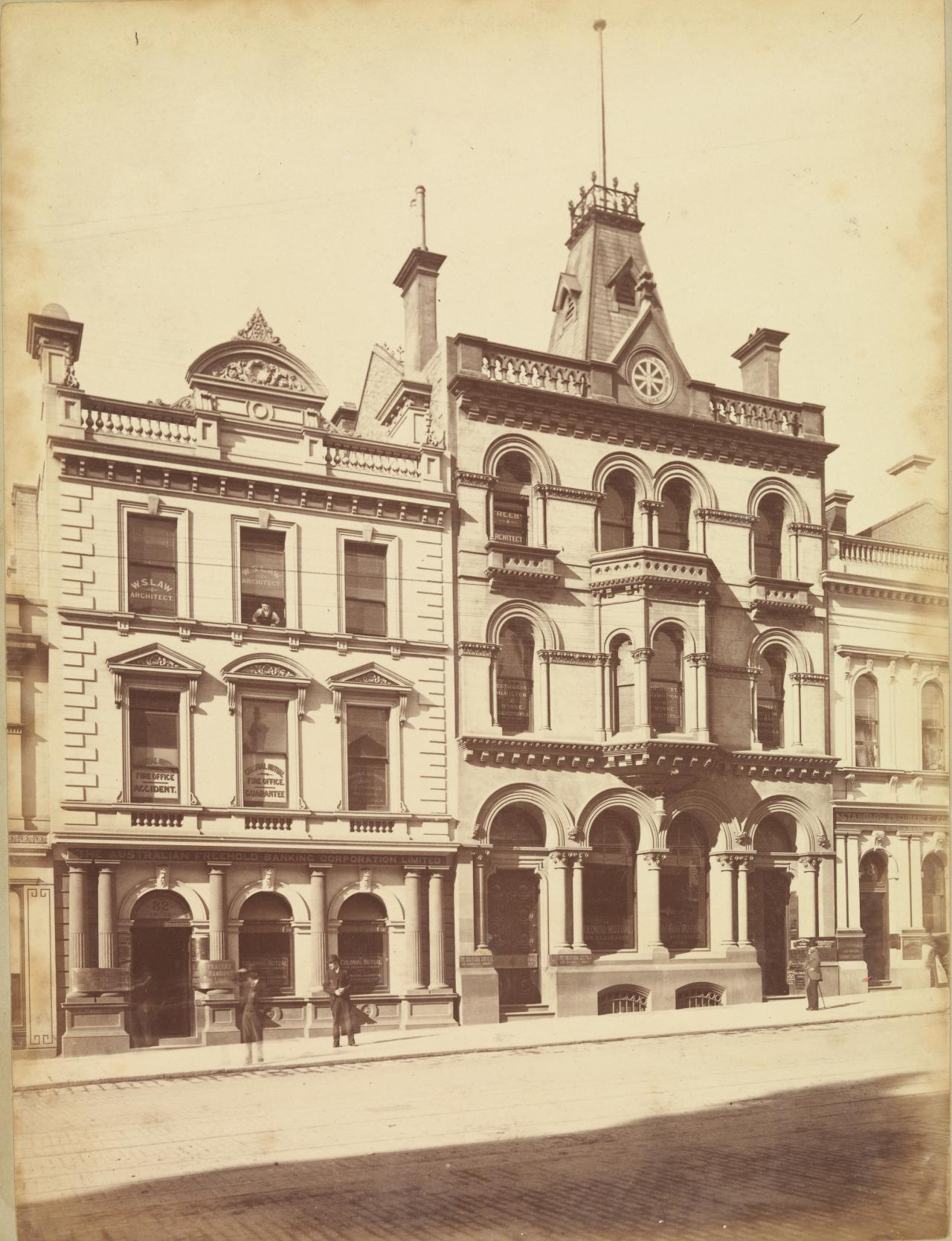 Colonial Mutual Insurance Coy, Collins St. West