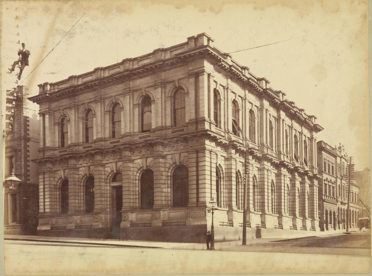 Bank of Australasia, Collins St. West
