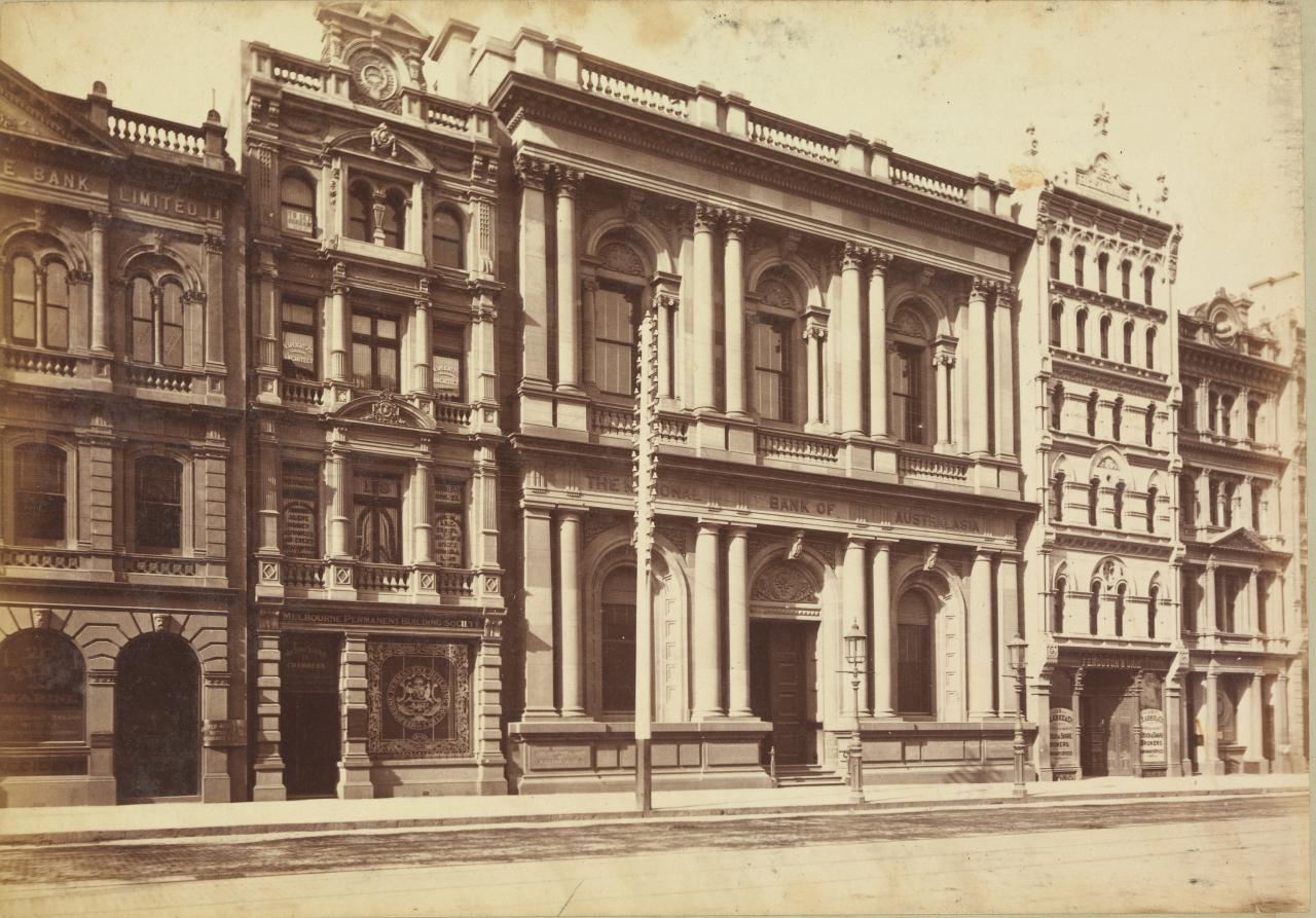 National Bank, Collins St. East