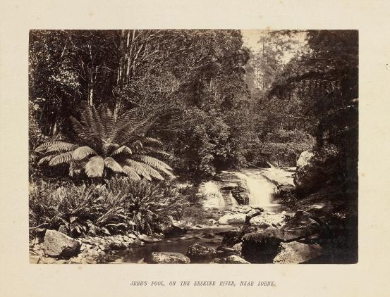 Jebb's Pool, on the Erskine River, near Lorne