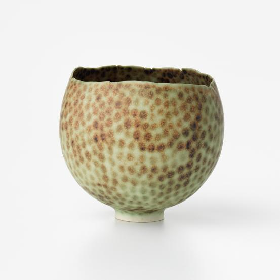 Speckled egg bowl